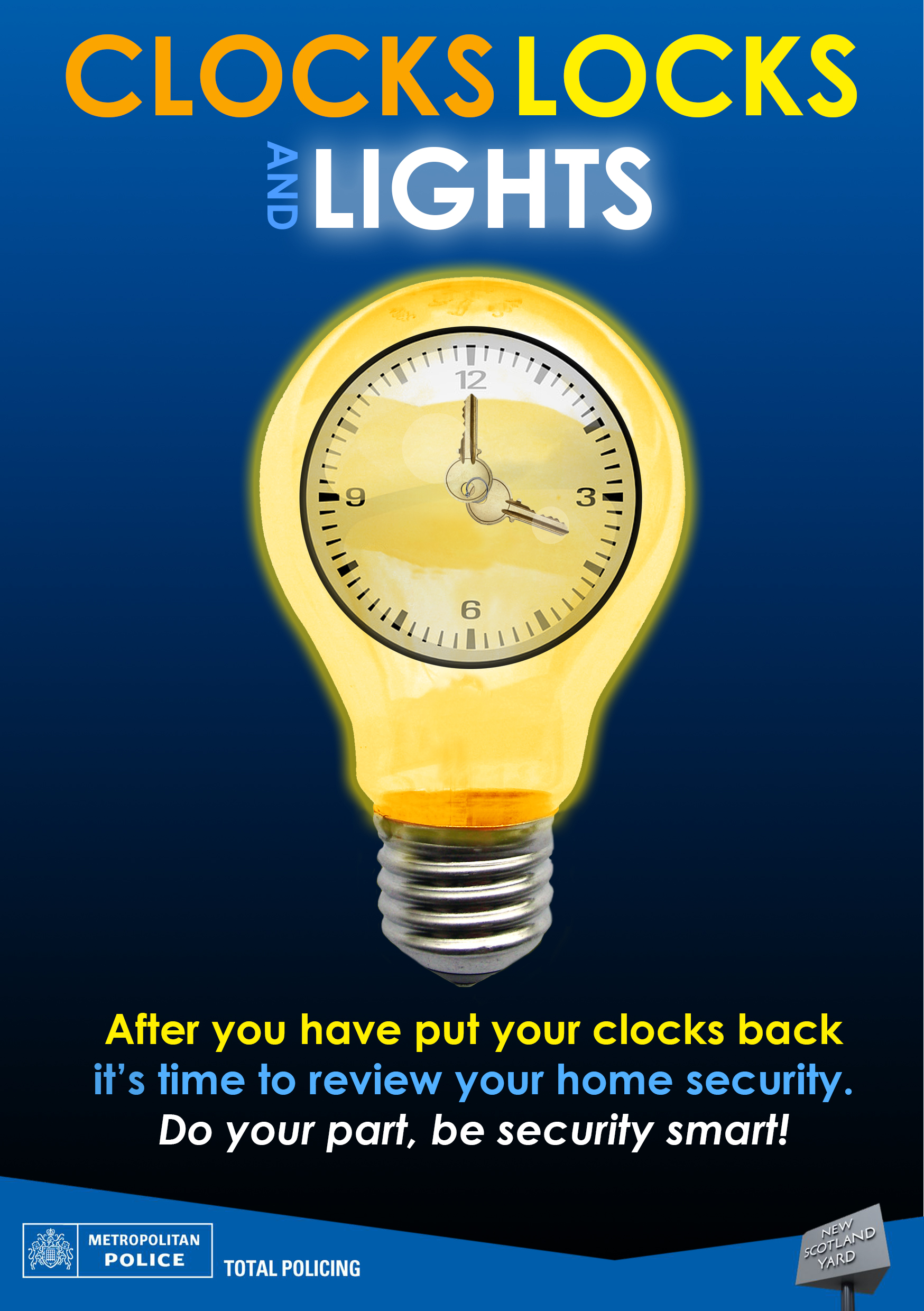 Do your part, be security smart. Quickly programme your light switch timer