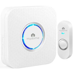 Arctic square wireless doorbell kit mydome alert