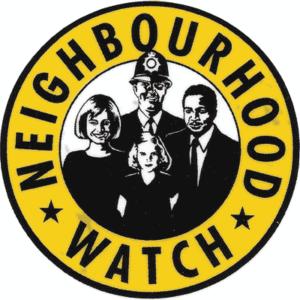 neighbouhood watch sign